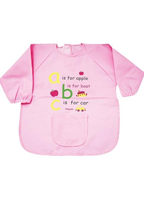 Baby Jem Faaliyet Önlüğü Kollu  Pembe